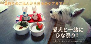 【犬用お料理教室】1月のテーマは、「ワンちゃんにも大敵 冬の『冷え』と『乾燥』対策」 旬の食材を使って体の中から温め、水分補給もばっちりの「スープご飯」を作りましょう。毎月第3火曜日は「わんちゃんデー」 大切な愛犬のためにできること、楽しく学んでみませんか? @ コワーキングカフェKOKOPLUS   杉並区   東京都   日本